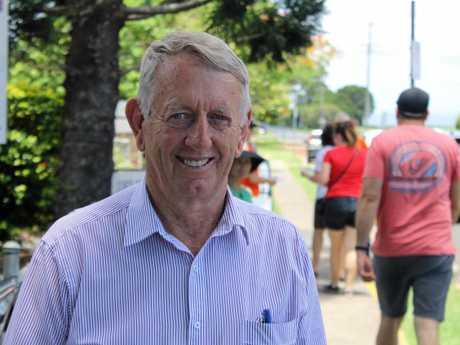 Former member for Mirani Jim Pearce.