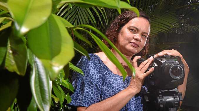 SHARING STORIES: Film maker Janine Kelly.