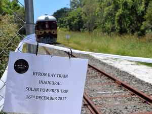 Solar train clocks 10,000 passengers after 19 days