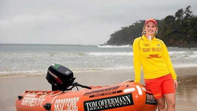 SURF SAVIOUR: Olivia Blight is the Noosa Heads SLSC's Summer Surf Girl.