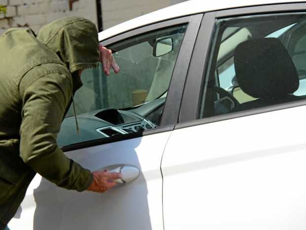 LOCK IT: Emerald police remind residents to lock vehicles and houses at all times.