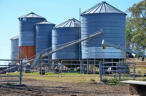 MARKET FREEZE: Chickpeas are sitting in silos with nowhere to go while the export market lies in limbo.