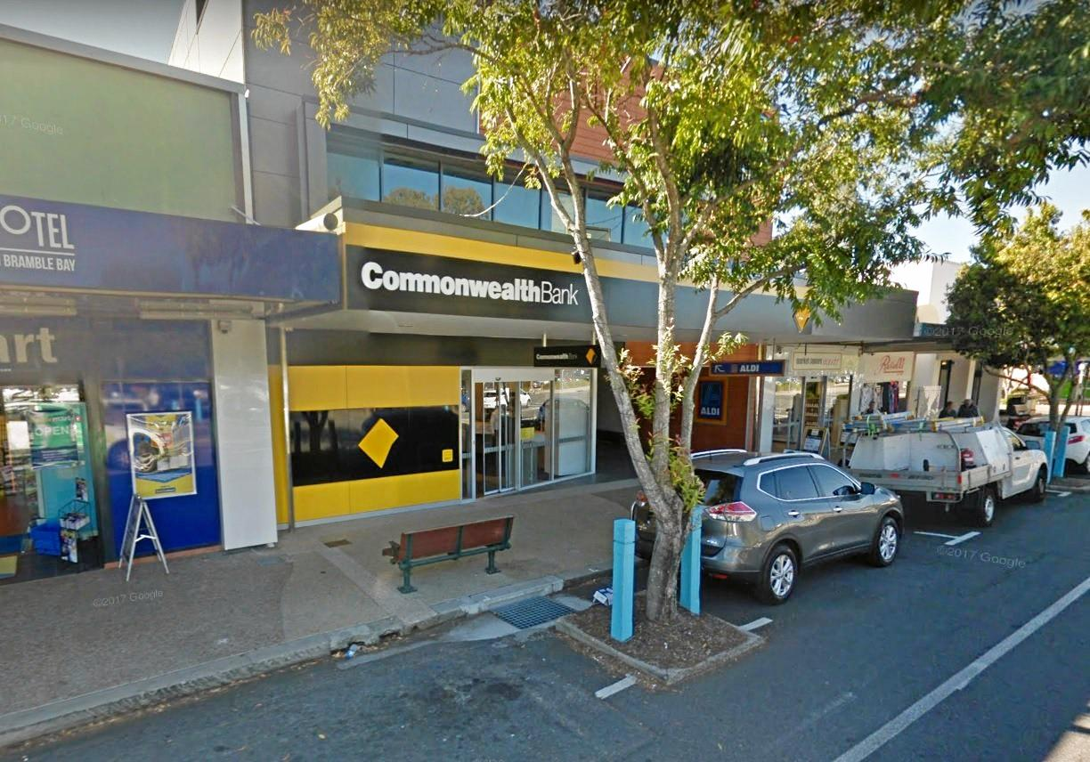 Mundy wanted to rob the Sandgate Commonwealth Bank branch - but staff and police thwarted him.