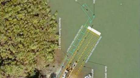 NEW LOOK: A layout of the upgrade plan for River Heads boat ramp.
