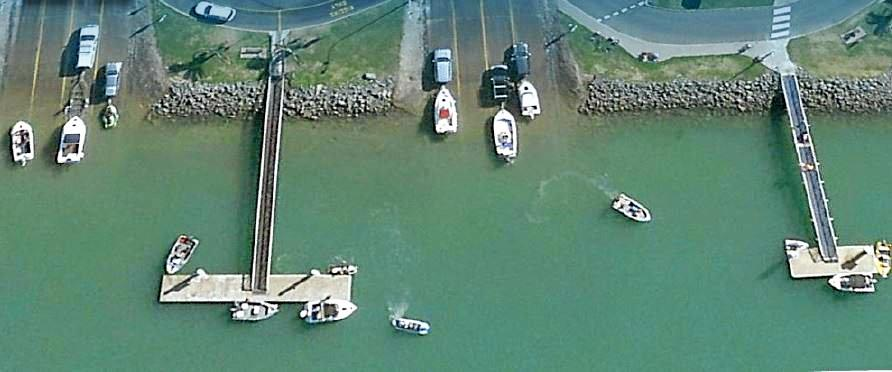 Two Urangan boat ramps are part of the multi million dollar upgrade.