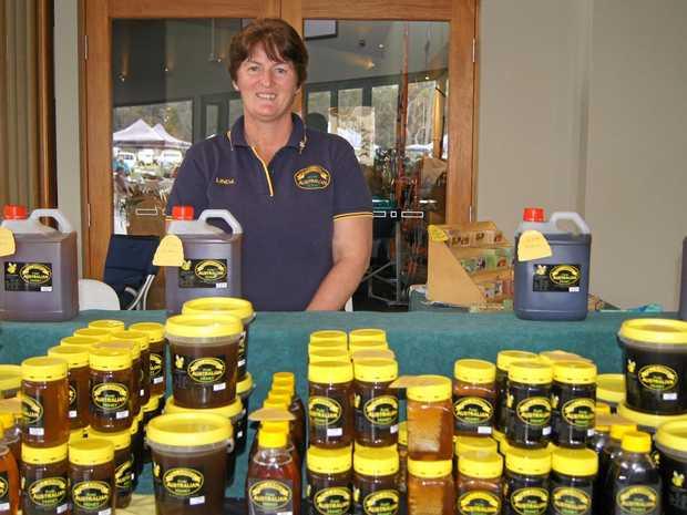 INAUGURAL: Linda Kinsella from Pillarbee Honey will be at the car boot markets.