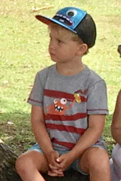 Myles Charlington, 4, was last seen about 11.30am today at the playground area on Lawson Street Byron Bay.