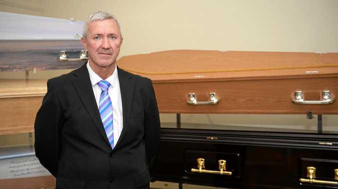 ASSOCIATION MEMBER: Colin Dean at Fitzroy Funeral Homes.