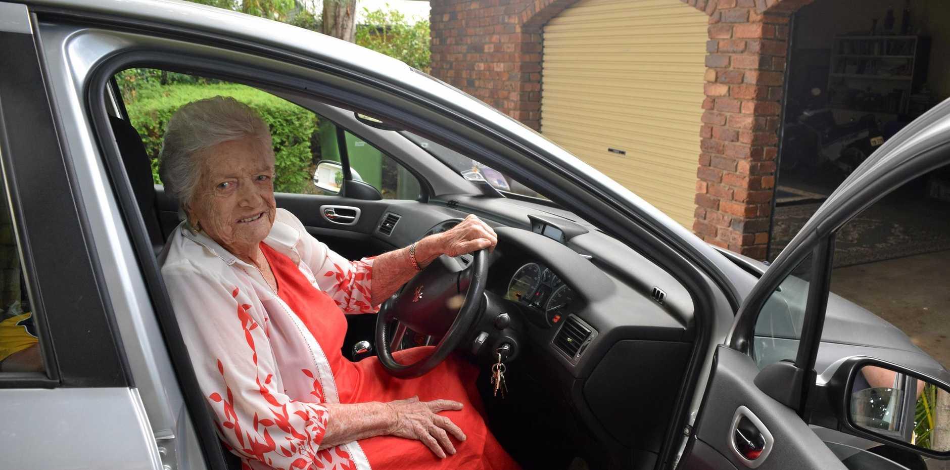 BIRTHDAY GIRL: Mary Murray turned 100 on January 8.