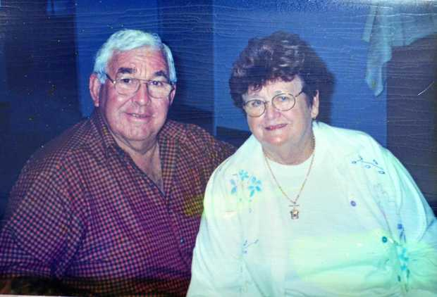 Rita Pratt with husband Earl.