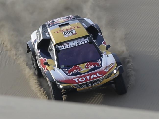 Stephane Peterhansel won Stage 5 of the Dakar Rally.