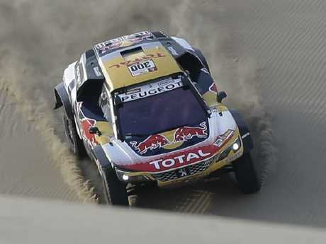 Stephane Peterhansel won Stage 5 of the Dakar Rally.