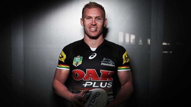 Peter Wallace will lead the Panthers in 2018. Picture: Phil Hillyard