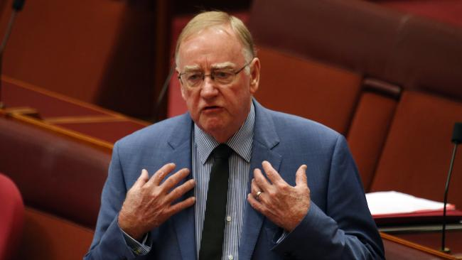 Senator Ian Macdonald was among the government MPs who took more than 100 days to repay a debt. Picture: Gary Ramage
