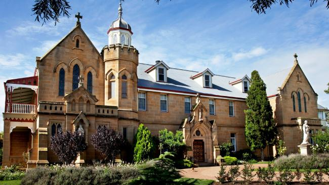 This property known as 'Abbey of the Roses' in Warwick is going to auction.