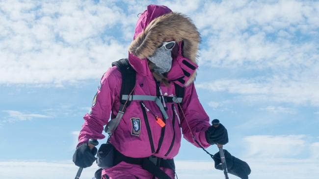 Jade Hameister completed an epic 37-day journey to become the youngest person in history to ski to the South Pole.
