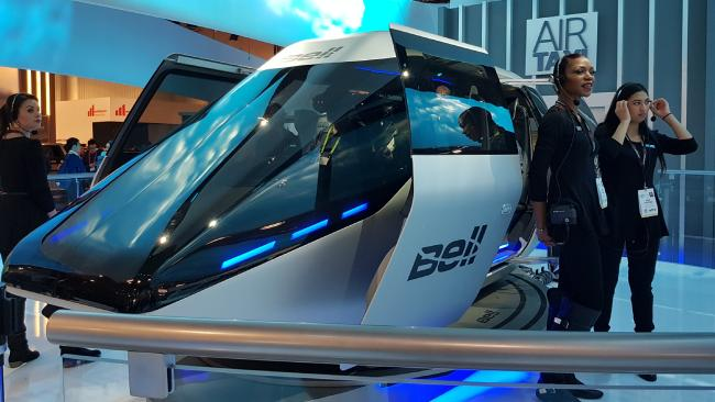 The Bell Air Taxi could be the answer to our road gridlock. Photo: Tanya Westthorp