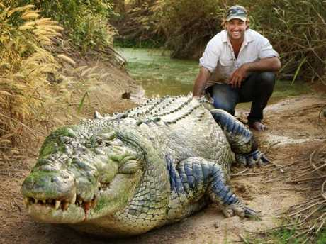 Matt Wright has studied the behaviour and movements of crocs for years.