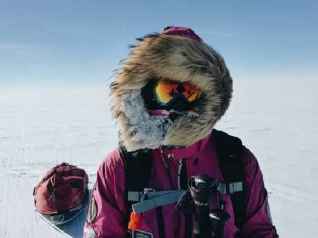 Jade Hameister has successfully skied to the South Pole.