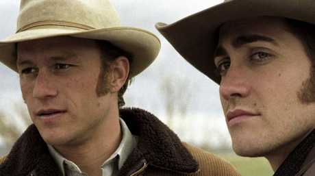 Ledger and Gyllenhaal became friends before they starred together in Brokeback Mountain.
