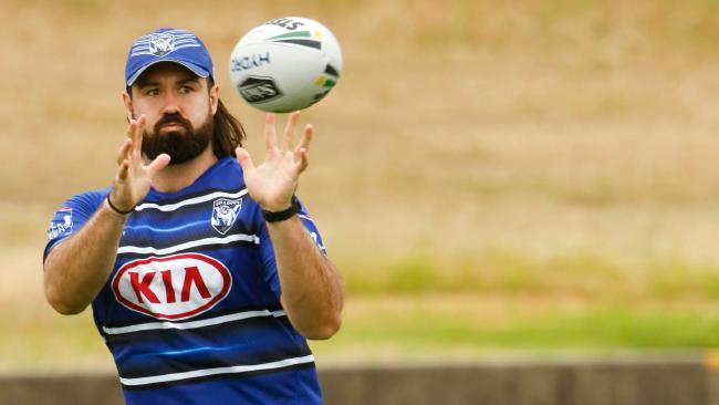 New Bulldogs recruit Aaron Woods is pumped about playing under new coach Dean Pay.