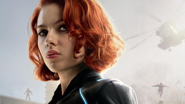 Scarlett Johansson stars as Marvel character Natasha Romanoff aka Black Widow.