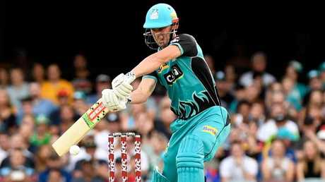 Lynnsanity Chris Lynn was initially picked for the Aussie ODI squad, but now he's out injured. Picture: Getty Images