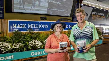Glen and Viva Williams purchased Karuta Queen for $50,000. Picture: Jerad Williams