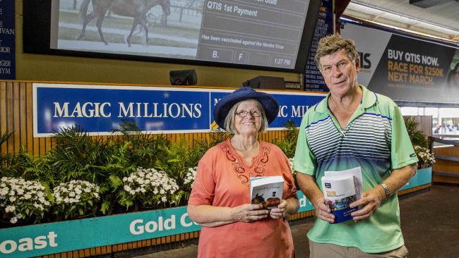 Glen and Viva Williams purchased Karuta Queen for $50,000. Picture: Jerad Williams
