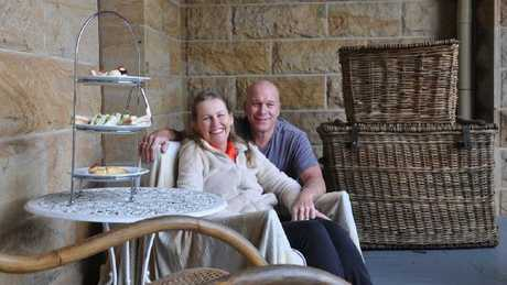 Sonia Hunt and Mark Cains are selling their guesthouse and wedding venue, Abbey of the Roses, in Warwick.