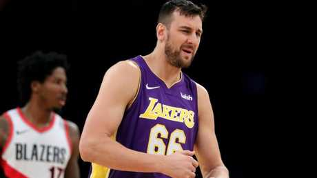 Andrew Bogut is looking for a new club. Sean M. Haffey/Getty Images/AFP
