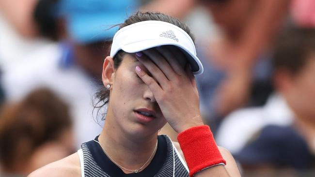 Garbine Muguruza has withdrawn from the Sydney International.