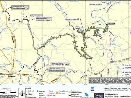 MAP: Rookwood Weir Site