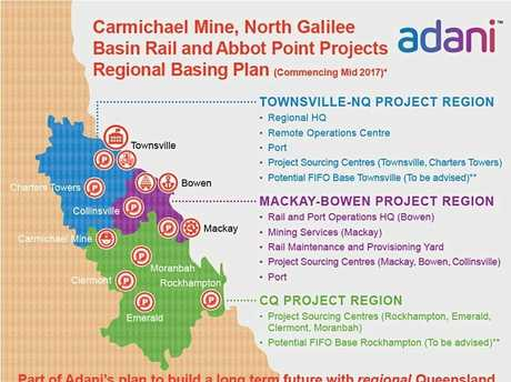 MISSING OUT: Adani's rail project for their Carmichael Mine Project had their NAIF loan vetoed by the QLD government.