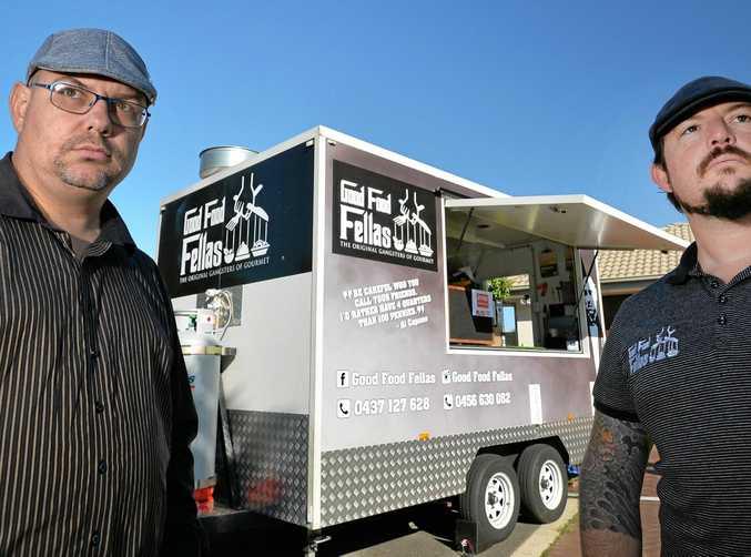 TASTY: Raymond Vonder and Joel Young are the men behind Sunshine Coast-based food truck Good Food Fellas.