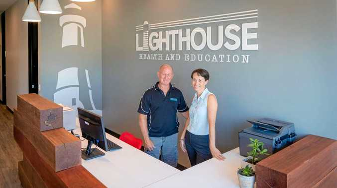 QUALITY SERVICE: Husband and wife team Wayne and Jane, of Lighthouse Health and Education, bring more than 50 years of professional experience to the Coffs Coast