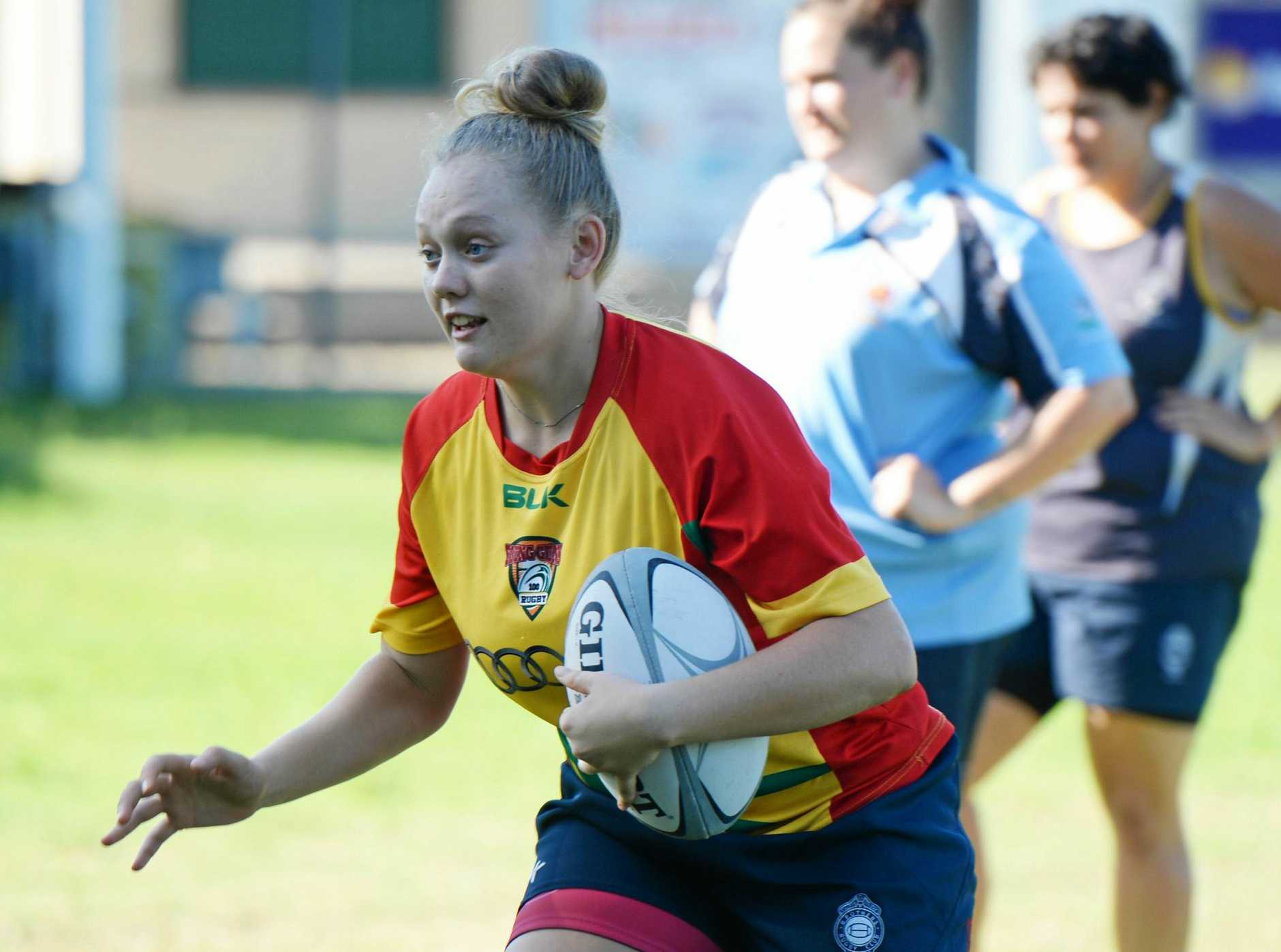 LEADING THE WAY: Gemma Brennan will play a pivotal role for Brothers at this weekend's sevens carnival.