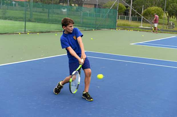 TENNIS TRIUMPH: Junction Hill Tennis Club will host a holiday camp for rising juniors.