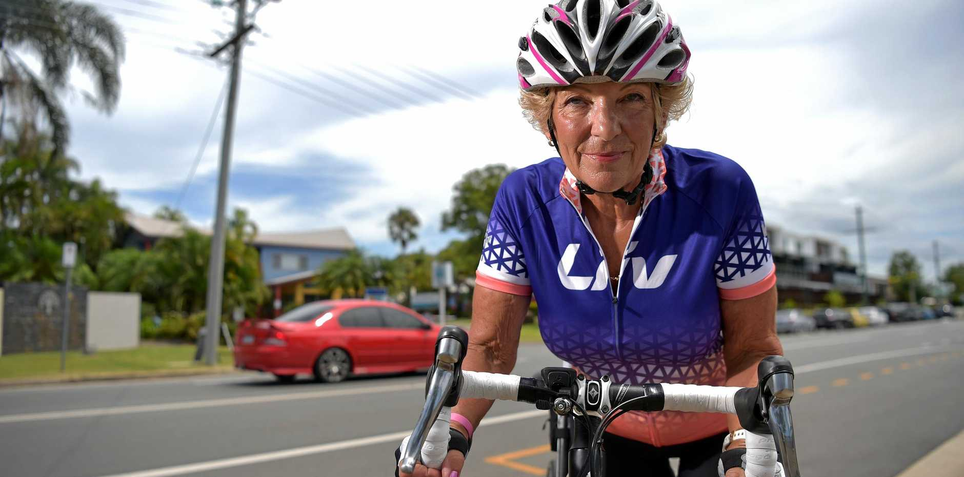LIVING DANGEROUSLY: Cyclist Sue Donelly shares her experiences of riding on Sunshine Coast roads.