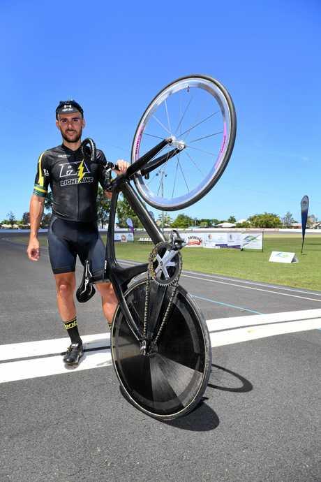 Cyclist Stephen Hall.