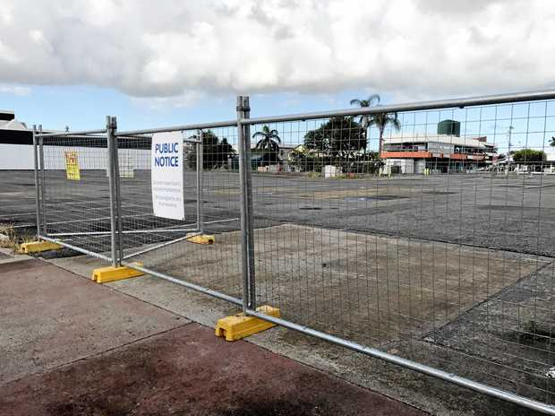 Chart Hall, the owner of the large car park on Sydney St, have fenced it off and has not decided what to do with the space.