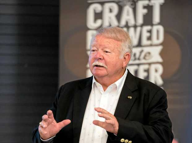 NEW PLANT: Cliff Fleming, founder of Bundaberg Brewed Drinks, has backed a new plant to be built in Bundaberg.