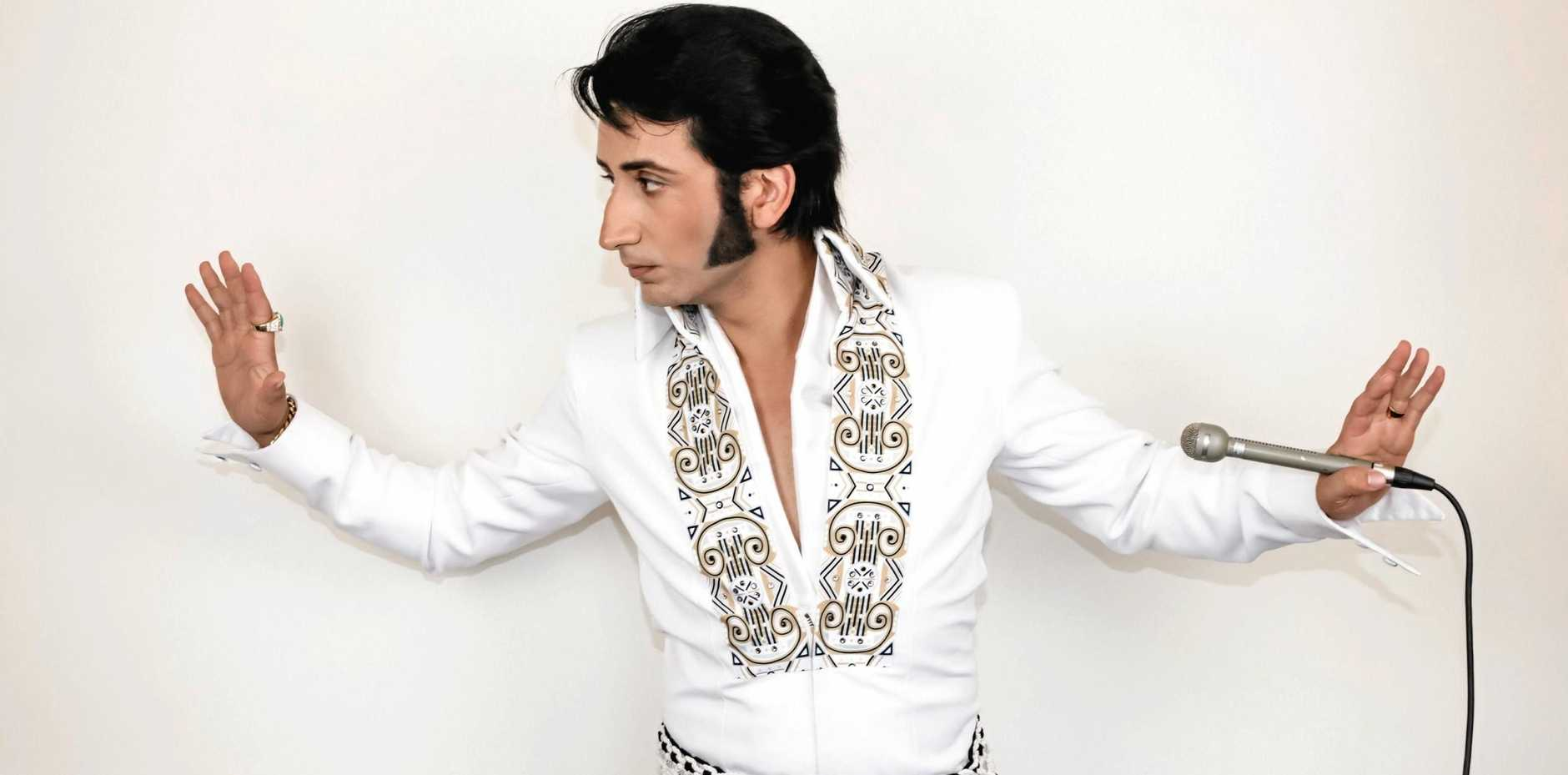 ULTIMATE ELVIS: Sean Luke Spiteri is known as one of the finest Elvis tribute artists in the country and is the feature performer on Saturday, February 17.