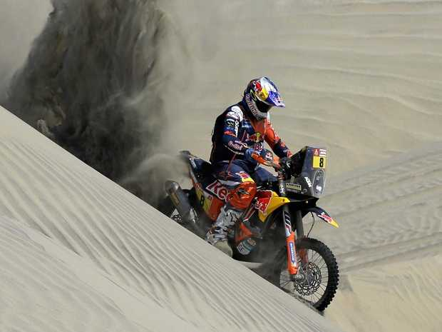 Santosh, Mena continue good show at Dakar Rally