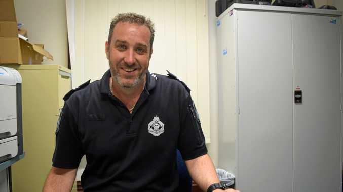 Senior Constable Gavin McLucas.
