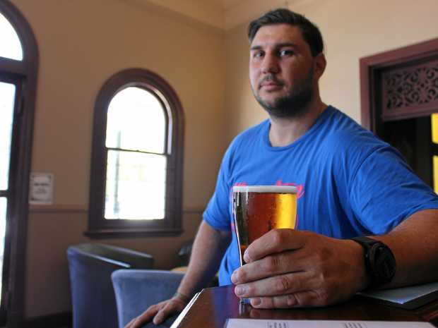 WASTED EFFORT: Alcohol taxes don't work according to Warwick Hotel manager Darren Pettiford.