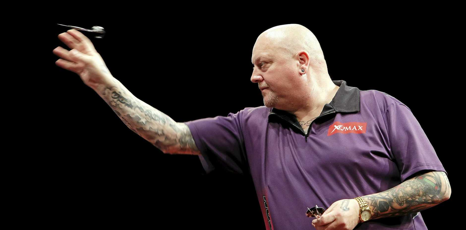 Andy Hamilton in action in Brisbane.