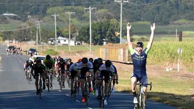 Kyle Marwood claims victory.
