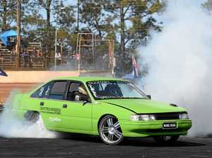 Burnouts back at Maryborough