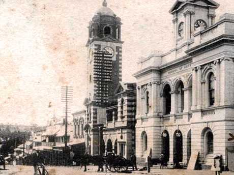 WATERING HOLE: On the corner of Ellenborough and Brisbane sts, opposite St Paul's Anglican Church, the North Star Hotel was originally built in the 1850s and competed with the East St hotels.